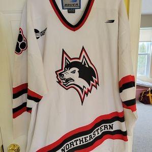 Northeastern hockey jersey